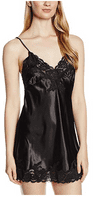 Lingadore Short Length AVA Silky Chemise in Black by Lingadore Style 2562