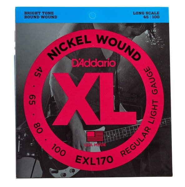 D'Addario EXL170 Electric Bass (45-100)