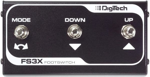 DigiTech FS3X 3-Button Footswitch
