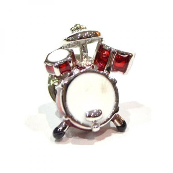 Drum Kit Pin Badge