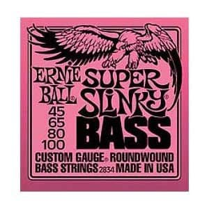 Ernie Ball Electric Bass Guitar Super Slinky (45-100)