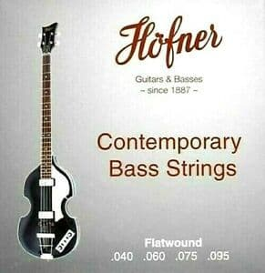 Hofner Flatwound Electric Bass (40-95)