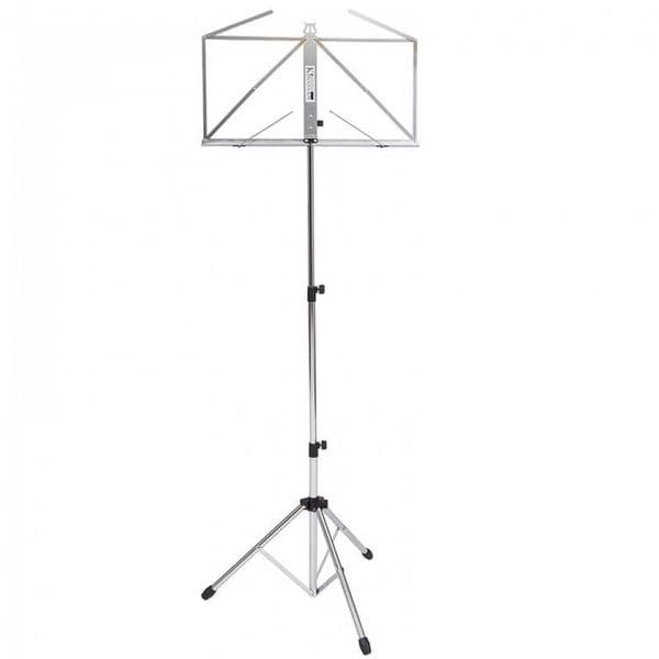 Kinsman Deluxe Music Stand and Bag - Chrome