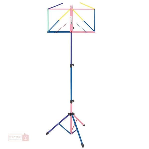 Kinsman Deluxe Music Stand  Multi Coloured