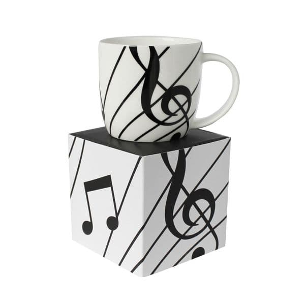 Music mug and box