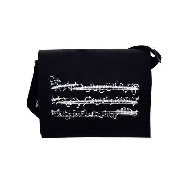 Music Stave Shoulder Bag