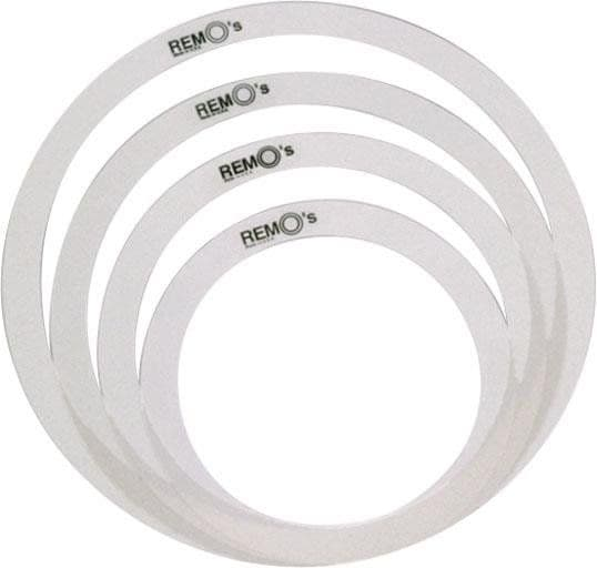Remo Tone Control Rings, Set of 4