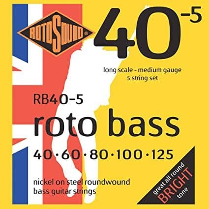 Rotosound RB40-5 Electric Bass (5 String 40-125)