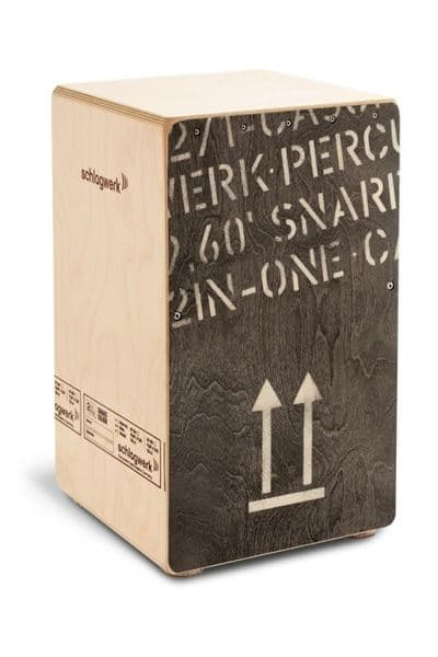 Schlagwerk 2inOne Cajon Large, Black Edition