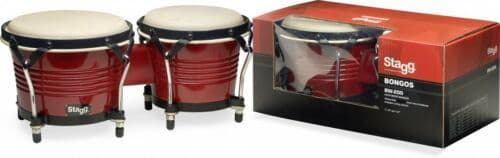 Stagg Bongos (Red)