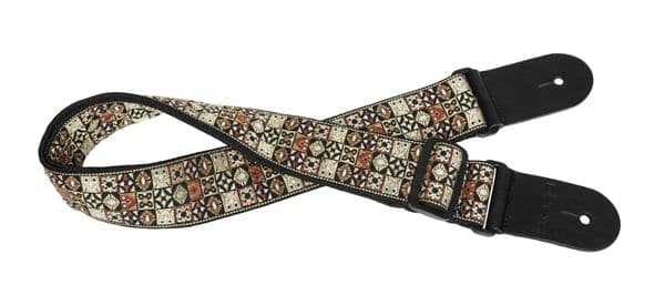 Stagg Guitar strap, Hootenanny mix