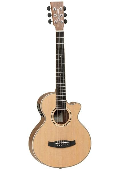 Tanglewood DBT TCE BW Electro Travel Guitar