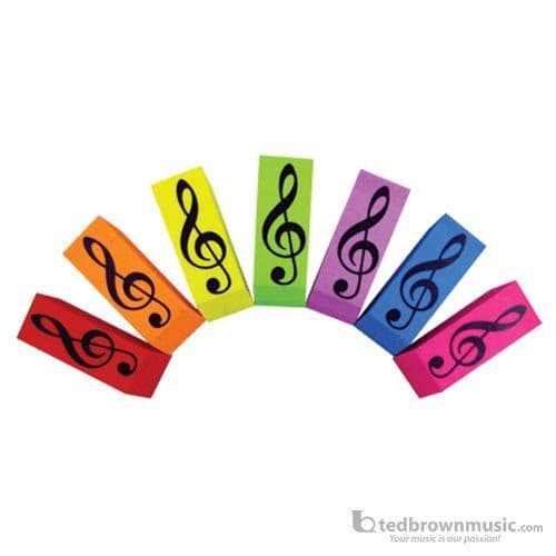 Treble Clef Colour Eraser