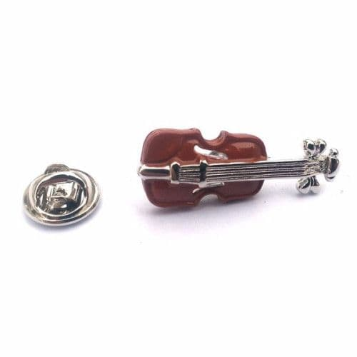 Violin Pin Badge