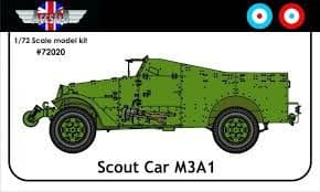 M3A1 White Scout Car (UK/France)
