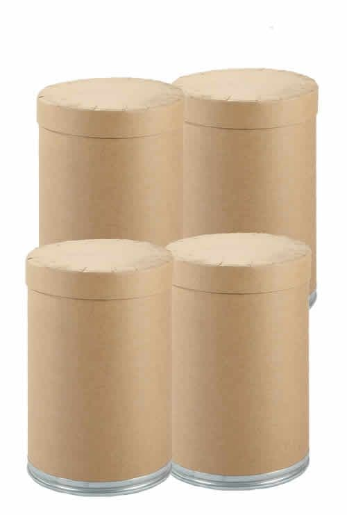 123 Litre Slip Lid Fibre Drum - Pack of 4 Drums