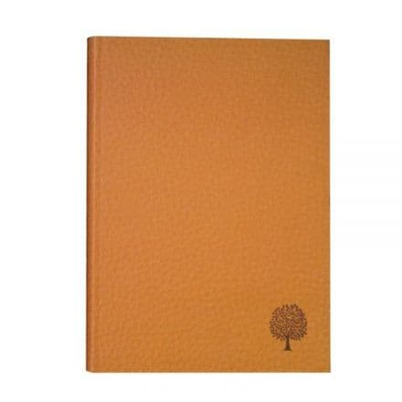 Aisling Ruled A5 Softback Velvet Finish Notebooks 150 Page Brown
