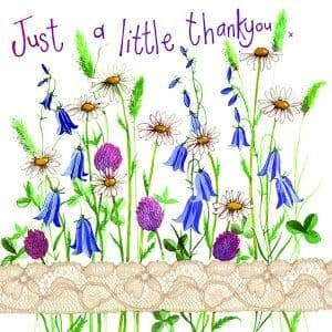 Alex Clark Art - Greeting Card - Little Sparkles - Country Flowers