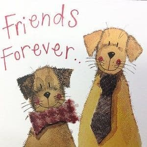 Alex Clark Art - Greeting Card - Little Sparkles - Friends Forever