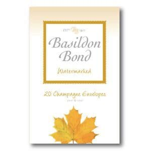 Basildon Bond Peel and Seal Envelope - Champagne 95 x 143 mm(Pack of 20)
