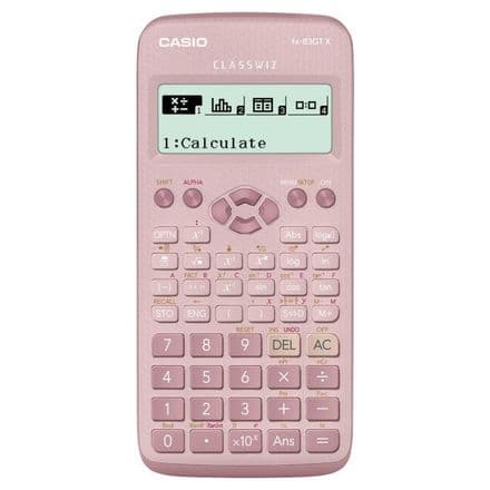 Casio fx-83GT X Classwiz Scientific Calculator Light Pink
