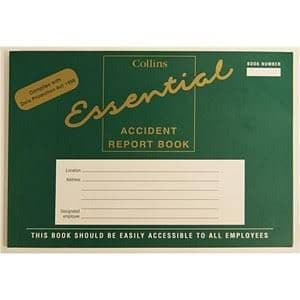 Collins Accident Report Book A5