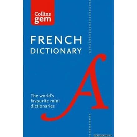Collins Gem French Dictionary Book