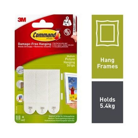 Command™ Medium Picture Hanging Strips 17201