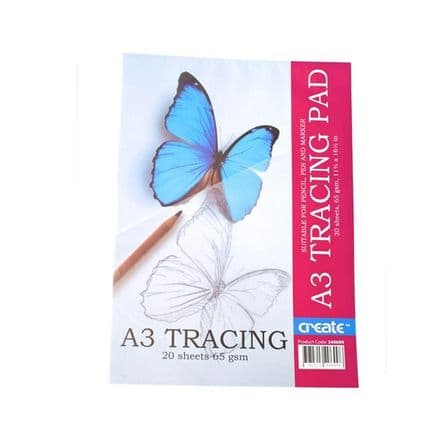 Create Tracing Pad - A3 65gsm - 20 Sheets