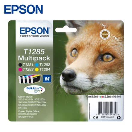 Epson T1285 Ink Cartridges - Multipack