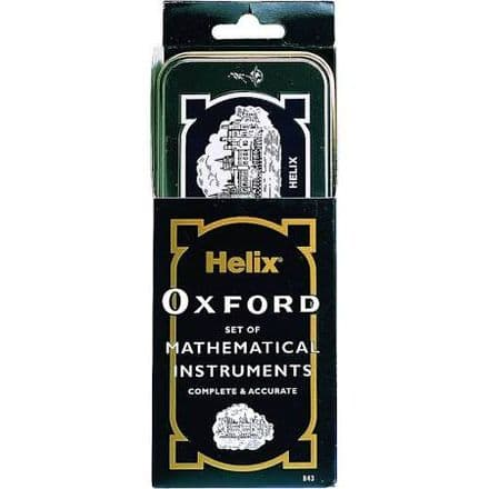 Helix Oxford Set of Mathematical Instruments