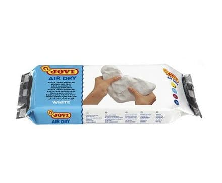 JOVI Air Dry modelling clay bar of 500g white