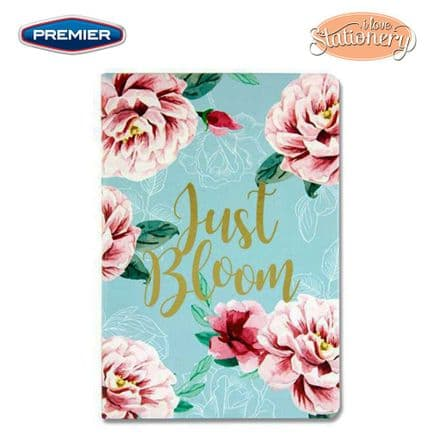 Premier I Love Stationery A5 Journal Quotes Floral -Just Bloom
