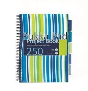 Pukka Pad Project Notebook  Wire-Bound A4 250 Pages
