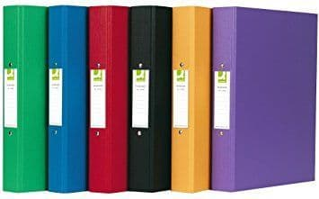 Q-Connect 2 Ring Binder A4 Polypropylene