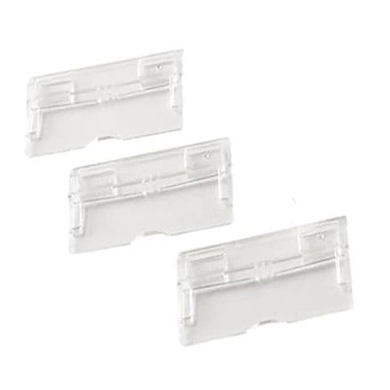 Q-Connect Clear Suspension File Tabs Pack of 50