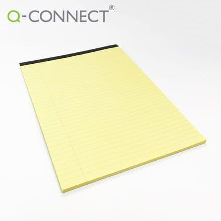 Q-Connect Executive Pad - A4 Yellow
