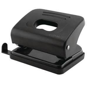 Q-Connect Medium Duty Hole Punch Black-20 sheet