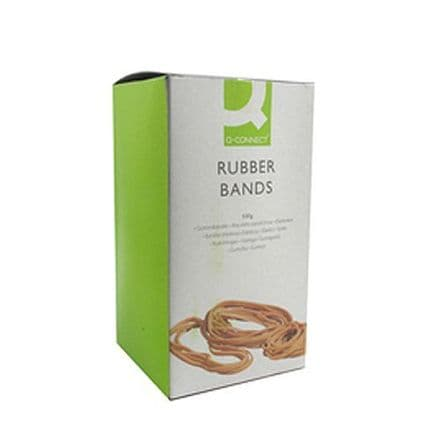 Q-Connect No.10 Rubber Bands Pack of 500g