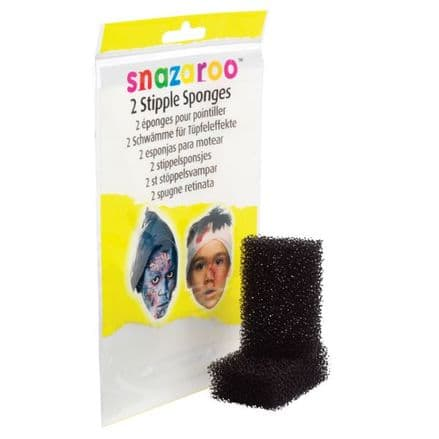 Snazaroo Face Paint Stipple Sponges Pack of Two