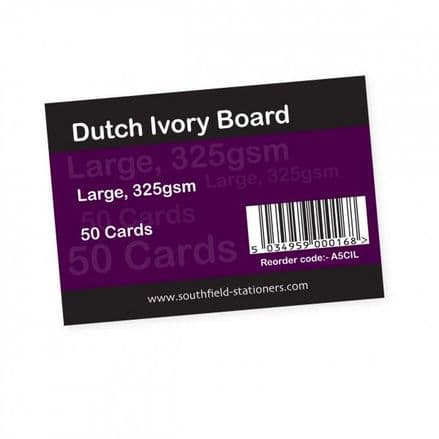 Southfield Dutch Ivory Cards - Large - Pack of 50