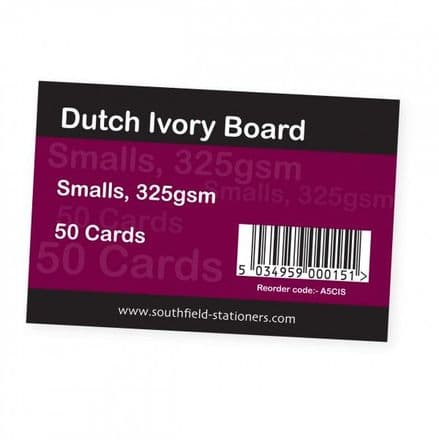 Southfield Dutch Ivory Cards - Small - Pack of 50