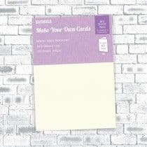Southfield Embossed Card - A4 Warm Ivory Hammer 300gsm - 100 Sheets