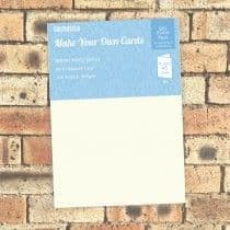Southfield Embossed Card - A4 Warm Ivory Linen 300gsm - 100 Sheets