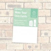 Southfield Embossed Card - A5 Natural White Linen 300gsm - 100 sheets