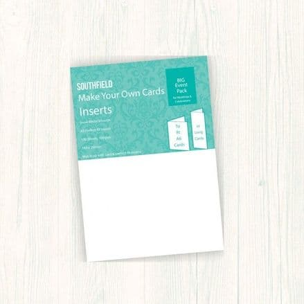 Southfield Insert Paper - A5 Snow White Smooth 100gsm - 100 sheets