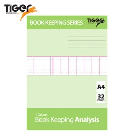 Tiger Stationery Book Keeping Analysis Book