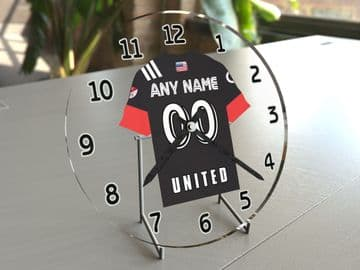 FC Dallas MLS Personalised Gifts - Soccer Team Wall Clock