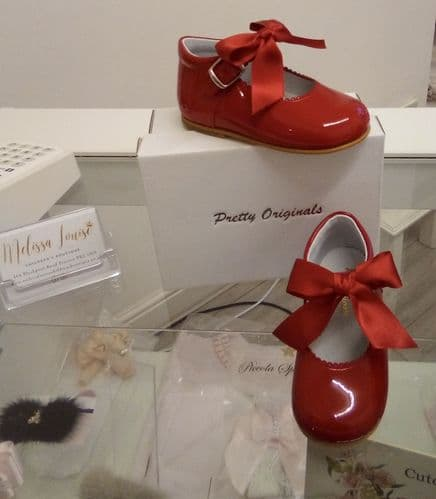 Pretty Originals Red Mary Jane Shoes