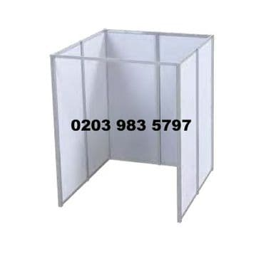 2m x 2m Pro Vaccination Booth